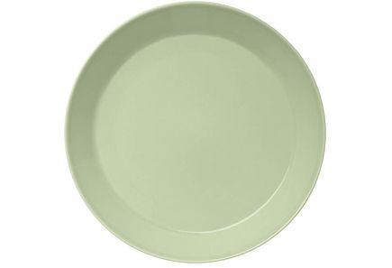 Iittala Teema -matala lautanen 26 cm 12,50 e  ja näitä vähintään yks mut kaksikin olisi mahtava