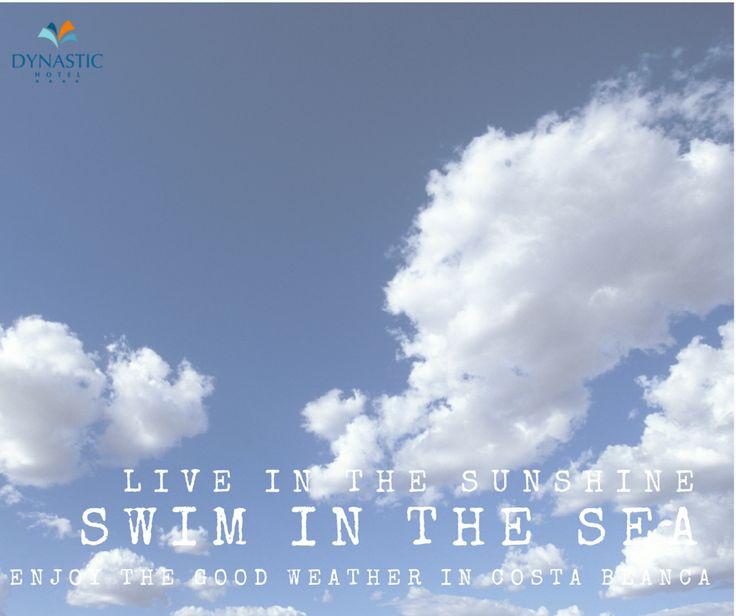 Este verano, vive la ExperienciaDynastic. ☀ ☀ Live in the sunshine. ☀  Swim in the sea. 🌊  Enjoy the good weather in the Costa Blanca. 🌴  #verano #summer #ExperienciaDynastic #DynasticExperience #sunshine #sea #goodweather #costablanca #travel #weekend #instaweekend #friday #instafriday #instaviernes #viernes