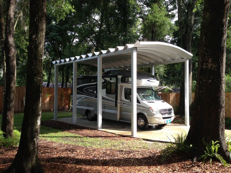 1000 ideas about rv carports on pinterest rv shelter Motorhome carport plans
