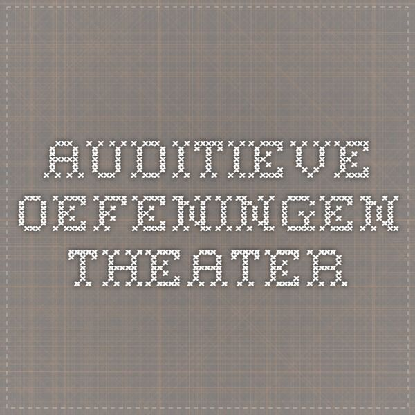 Auditieve oefeningen Theater onitsuka red tiger