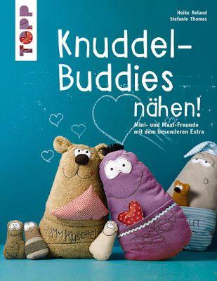 Knuddel-Buddies nähen ------------------------------ Neues Buch von Heike Roland & Steffi Thomas  Schaut mal im Blog vorbei: http://black-sheep-company.blogspot.de/2017/05/wir-sind-total-aus-dem-hauschen.html ------------------------------------- BLACK SHEEP COMPANY, BUDDY, nähen, stricken, häkeln, diy, Kuscheltiere, Knuddel-Buddies, Freunde fürs Leben, Frech Verlag, TOPP, selbernähen, Freunde fürs Leben, Shop