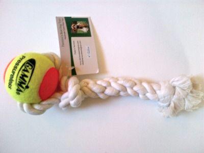 Tug and toss handmade rope toy ownedbyahusky.ca