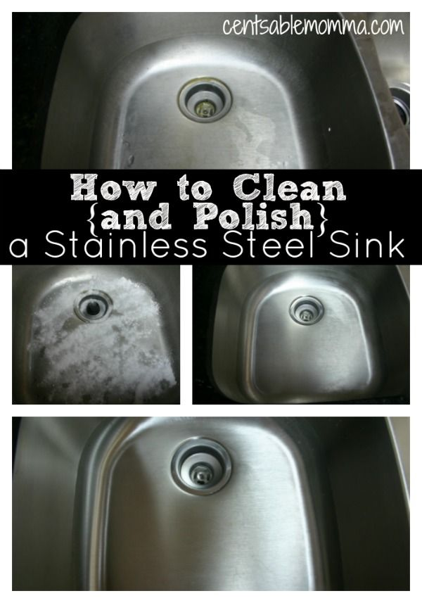 21a8b923ea195e7470043e16be168539  few ingredients stainless steel sinks Just 3 steps using common household ingredients to have a clean and shiny stainl...