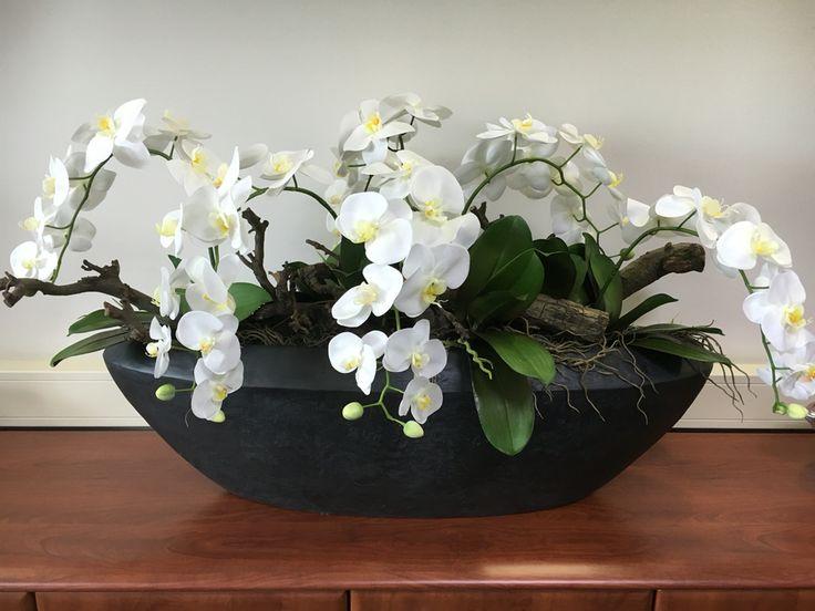 Prachtig stijlvol bloemwerk voor in een kantoor entree enz neem contact op met www - Moderne entree decoratie ...