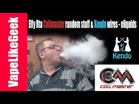 Elfy Rta Coilmaster random stuff & Kendo wires - eliquids {{ VAPE LIVE SHOW }} Απόψε θα δούμε διάφορα από την CoilMaster όπως επίσης και τον Elfy Rta Ακόμα Kendo eliquids και σύρματα Όμως θα συζητήσουμε και για οτι άλλο εσείς έχετε απορίες .. ----------------------------------------------------------------------------------------------- Οποιος θελει να παρει το mix shot συνταγη μου Strawmurder πληροφοριες εδω http://ift.tt/2hbpEnk…