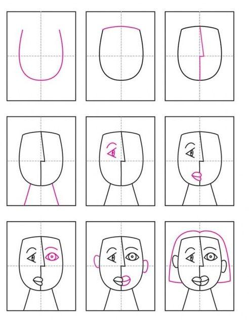 best 25 dessiner un portrait ideas on pinterest comment