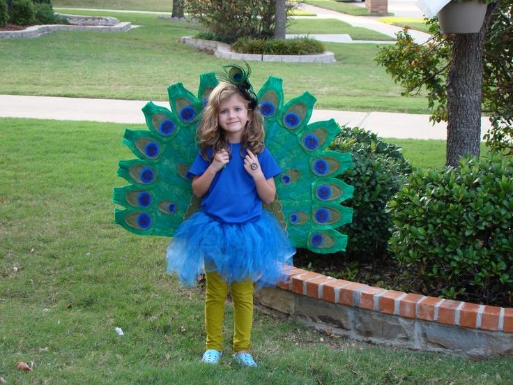 Verkleden: Peacock Costume