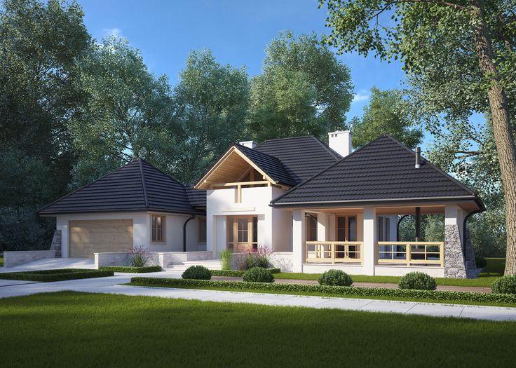 LK&39 niewielki #dom #jednorodzinny styl #dworkowy #Projekt biura #LK&Projekt #architektura #architekci #dwory #polskie #dwór