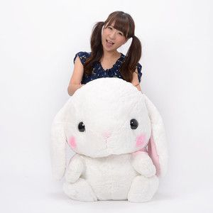 Plushies / Big Plushies / Pote Usa Loppy Shiroppy Rabbit Plush (Super Jumbo)