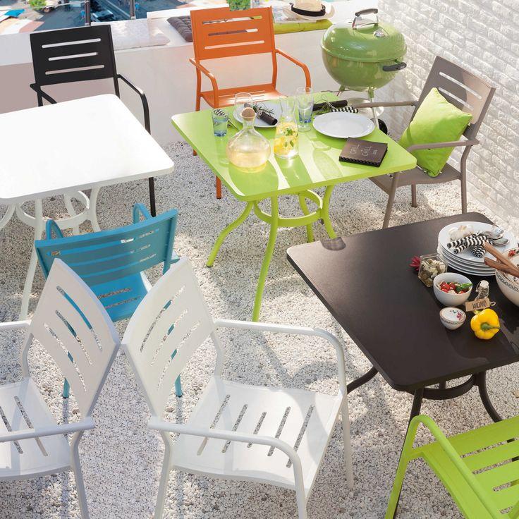 Stapelsessel Gorgio Alu matt - Stapelstühle - Gartenstühle & Hocker - Garten