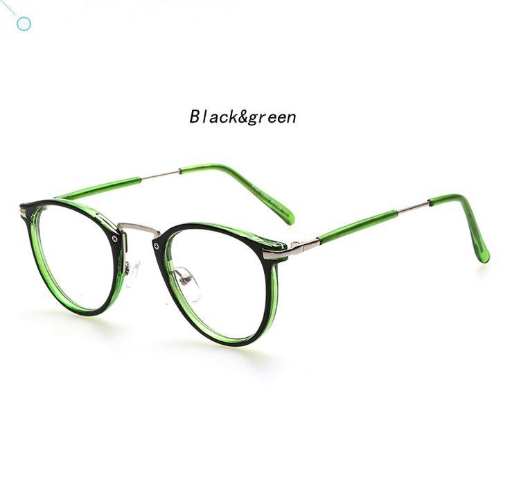 Retro Green Black Glasses from Aliexpress.com $7