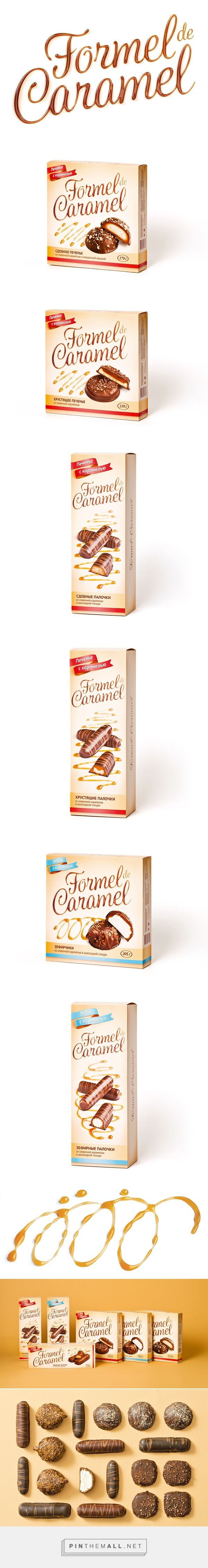 Formel de Caramel on Behance - created via https://pinthemall.net