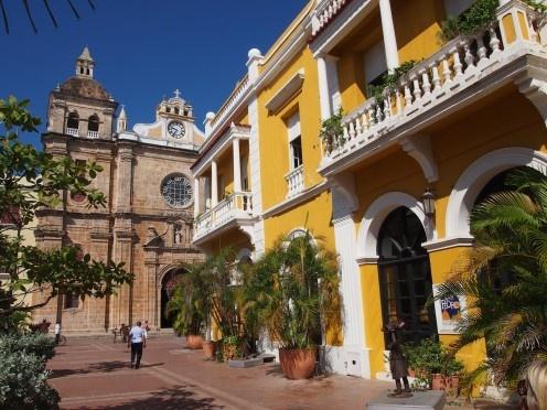 Downtown Cartagena