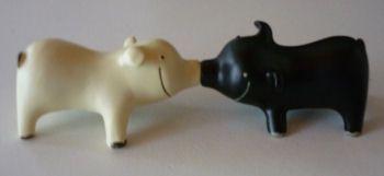 varkens te koop uit Fräncis' VarkensCollectie voor 7,50 euro - 2 stuks