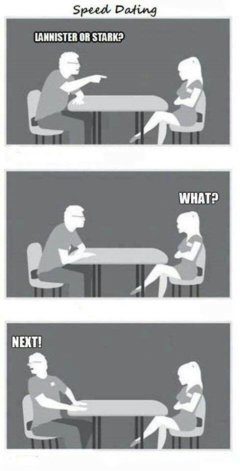 Speed dating magazine or clips