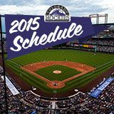 2015 Colorado Rockies Sortable Schedule   Rockies.com: Schedule