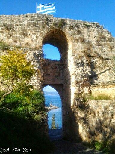 Castle cate Koroni Greece