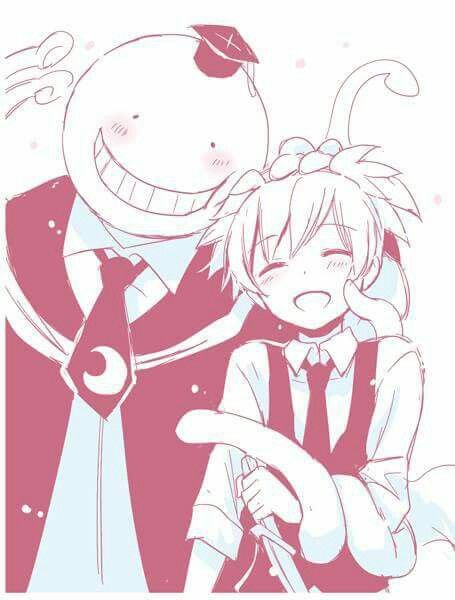 OMG THAT'S SOOO CUTE NAGISA AND KORO-SENSEI