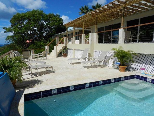 Serenity Villa   St. John US Virgin Islands Vacation Rental   Click For  Details.