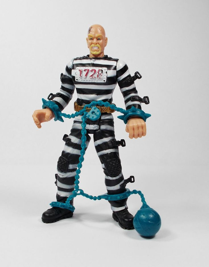 Police vs Bad Guyz - Barrcode Action Toy Figure - Chap Mei (2)