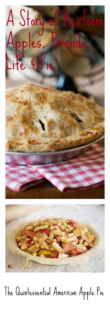 The Quintessential American Apple Pie from The Meaning of Pie. #PIE love