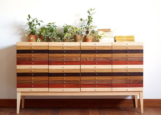 who can build this....since i obviously can't get one from japan!: Modern Interiors Design, Idea, Diy Furniture, Color, Apartment Therapy, Dressers, Design Home, Wood Home, Chest Of Drawers