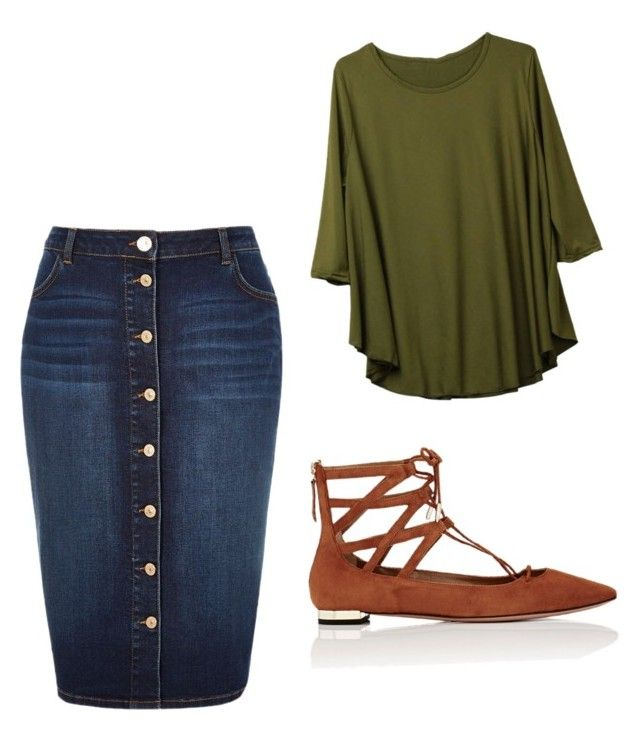 Untitled #756 by bye18 on Polyvore featuring polyvore fashion style River Island Aquazzura clothing