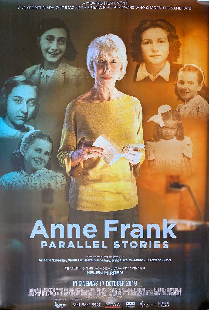 Original Australian One Sheet Movie Poster Anne Frank Parallel Lives 2019 Anne Frank Documentarios Diario De Anne Frank