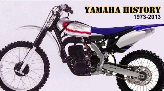 Yamaha Motocross Bikes 1973-2013 | History Lesson