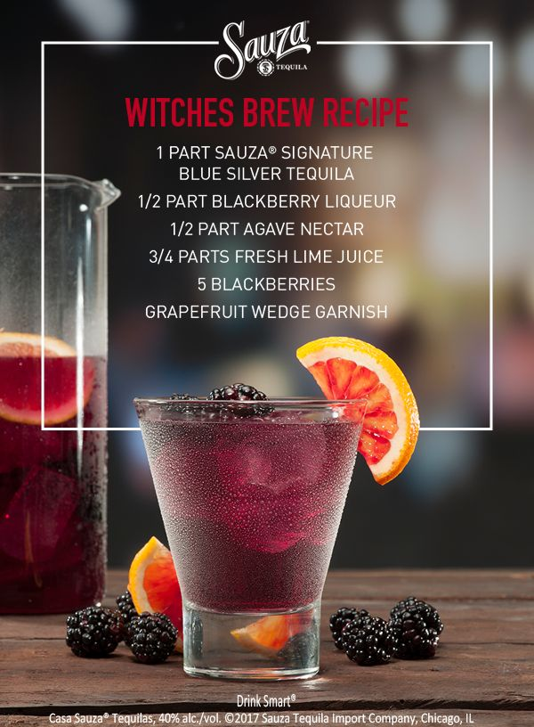 The blacker the berry, the sweeter the cocktail. Give your cocktail the perfect balance of tart and tang with fresh blackberries, lime juice, blackberry liqueur and 100% agave tequila. Keep the summer vibes alive as we move warmly into fall. Mix it up with more recipes on our website, sauzatequila.com.