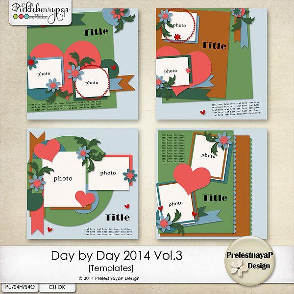 Day by Day 2014 Vol.3 Templates by PrelestnayaP Design