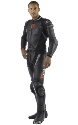 Dainese 2 Piece Leather Suit (DS-1006). Available Now at €500. All Sizes. Delivery time: 10-15 working Days. PayPal Accepted. Free Delivery Worldwide Delivering Safety Worldwide.. Email: motorgarments@gmail.com