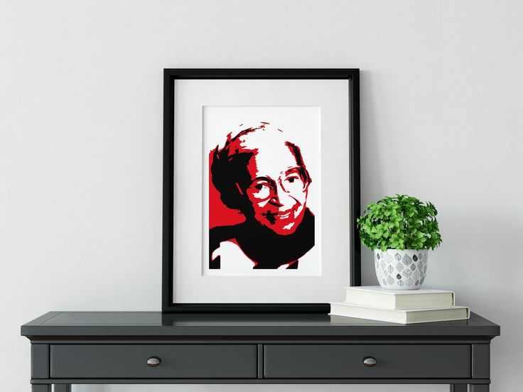 ROSA PARKS - Framed Illustration