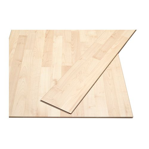 IKEA - SLÄTTEN, Laminated flooring, , Flooring with click system is easy to lay; no adhesive required.Will not fade in sunlight; suitable even for rooms exposed to strong sunlight.