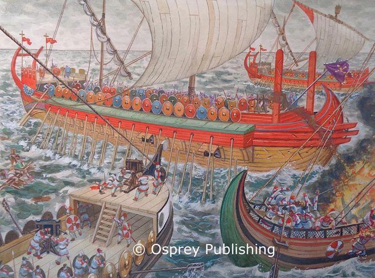 Giusseppe Rava: batalla de Senigallia / Sena Gallica (551). La mejor colección de láminas militares en http://www.elgrancapitan.org/foro/