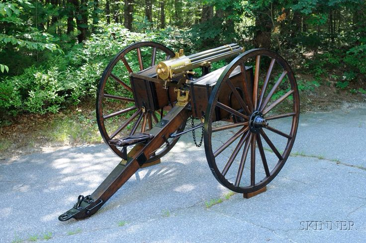 Gatling carriage