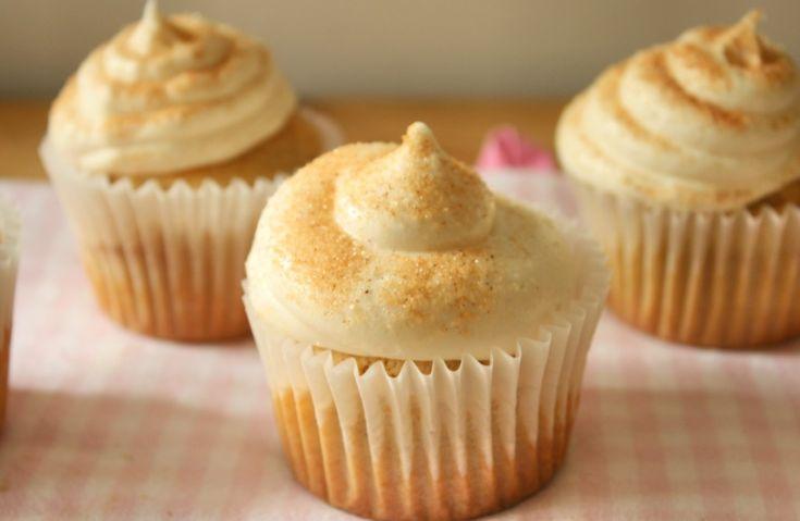 Snickerdoodle Cupcakes (vegan mit glutenfreier Variante) | Der belaubte Kessel