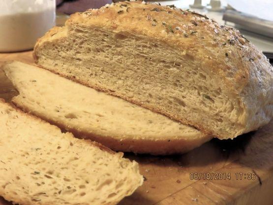 Romanos Macaroni Grill Rosemary Bread Recipe - Food.com: Food.com