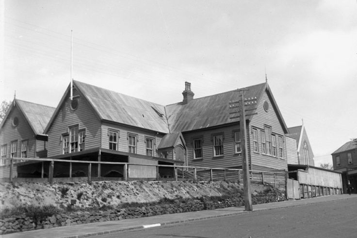 St Benidicts School, now our carpark,  Newton, Auckland