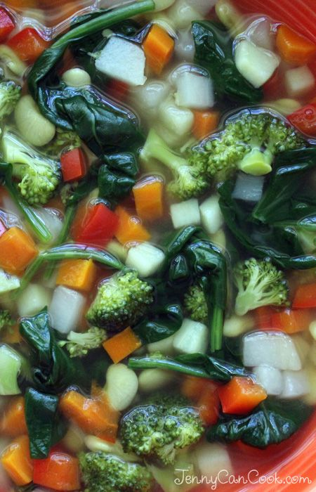 Wound Healing Soup recipe from Jenny Jones (JennyCanCook) Simple recipe takes 30 minutes.