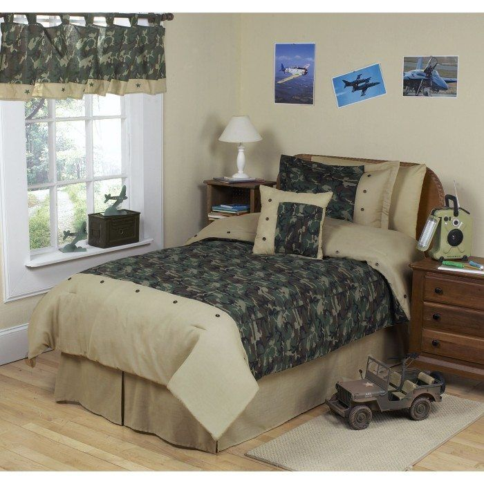 Cozy Camouflage Teenage Boys Bedroom Interior Decoration Using Camouflage  Bedding And Small Curtain. 408 best Bedroom Design images on Pinterest