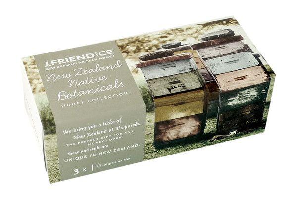 NZ Native Botanicals Honey Collection $15,95