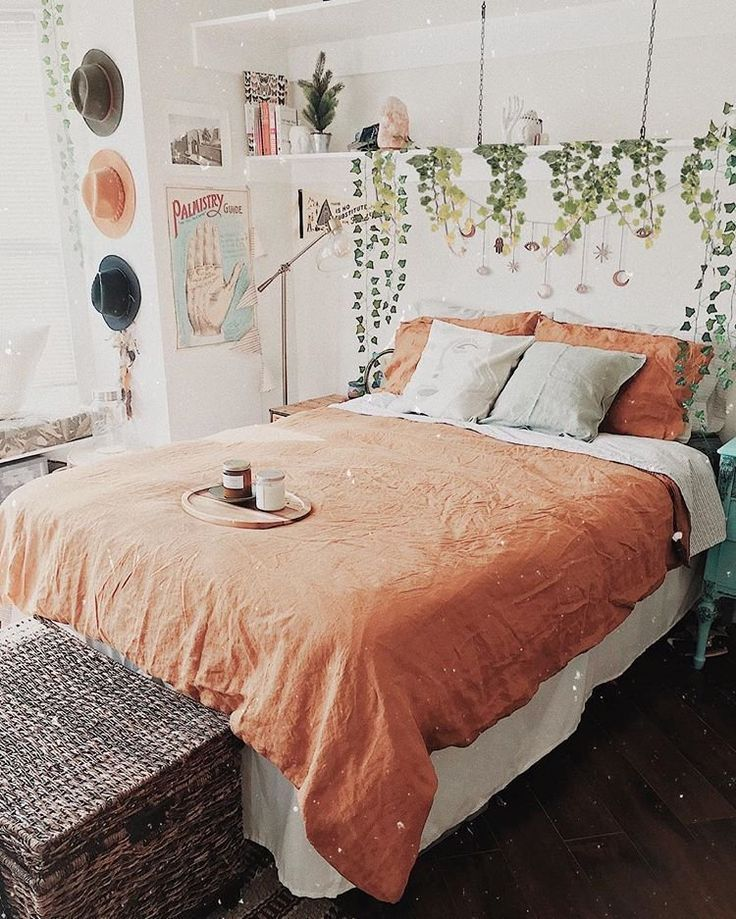 What Is Hot On Pinterest 5 Top Boho Bedroom Decor Best Bedroom Colors For Sleep Color Schemes For In 2020 Boho Bedroom Decor Bedroom Decor Romantic Bedroom Decor