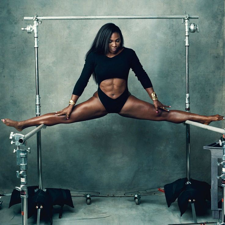 This photo gives me all kinds of LIFE!!!!! I'm forcing myself to exist on a modified or close to no CARB DIET and searching Amazon for a BARRE!!  #serenawilliams