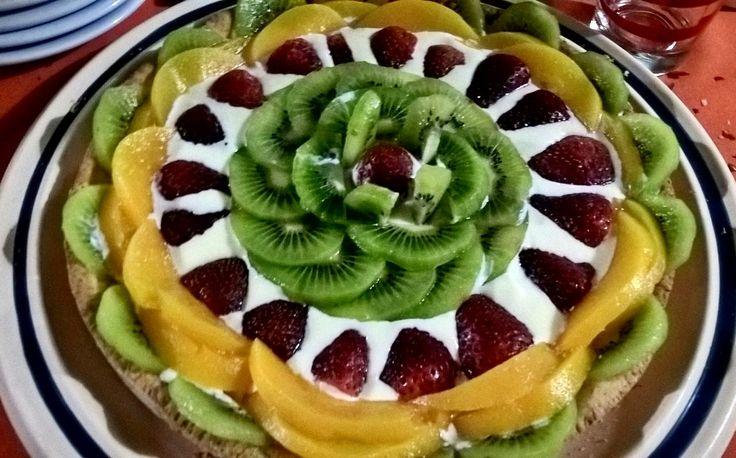 Tarta de frutas 🍓🍉