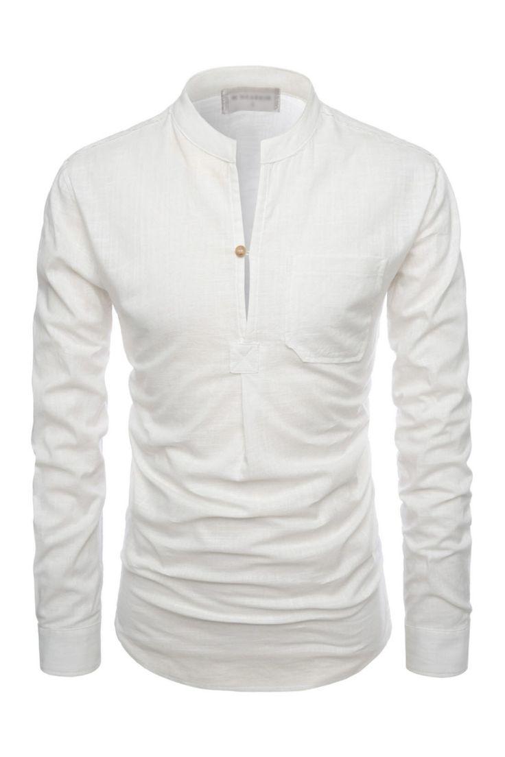 276 best I wear alot of white images on Pinterest | Shirts, Men ...