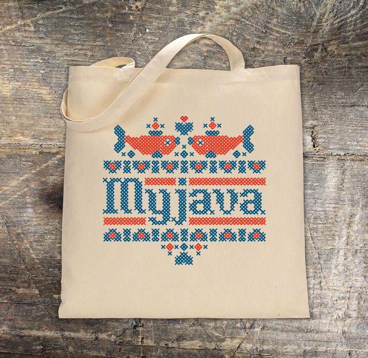 Nákupná taška s potlačou - Myjava