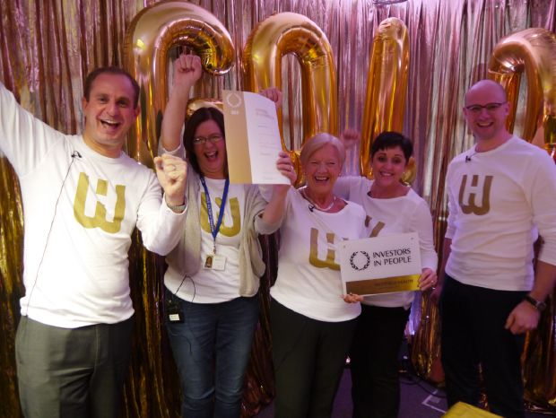 Westfield Health celebrating IiP Gold success!