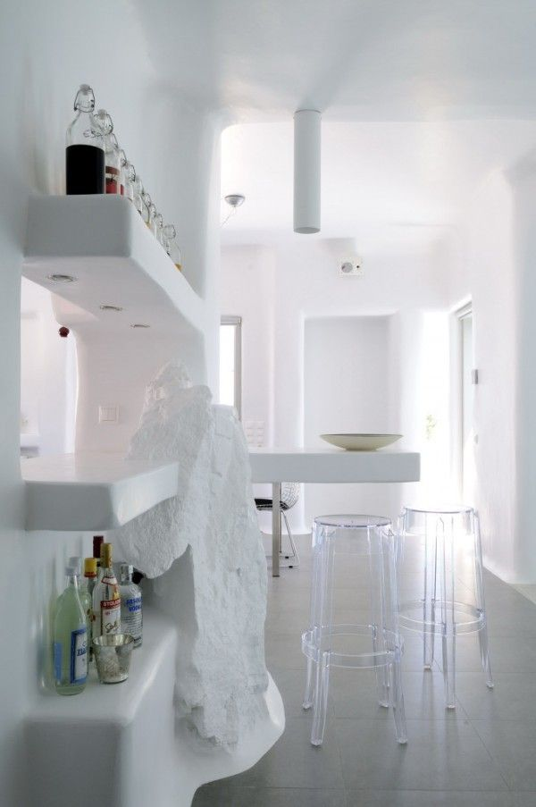 House in Cycladic Paros, Greece
