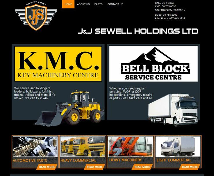 At J&J Sewell you can expect the best. Our two companies – KMC Machinery and Bell Block Service Centre – both have a long and proud history of delivering the best service to our customers. From our workshop in Bell Block, we are a one-one stop shop for all your light and heavy commercial needs. From light engineering through to heavy machinery, warrants of fitness, certificates of fitness, auto electrical work and air conditioning - we can do it all.